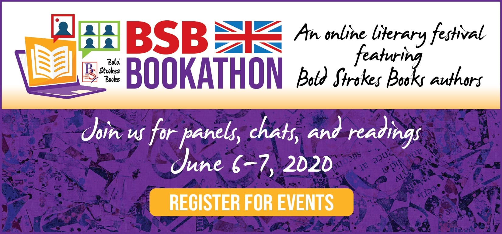 Bold Strokes Books Bookathon UK June 2020